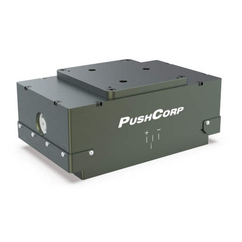 The AFD310 is part of PushCorp's Active Compliance series. This end effector can apply up to 60 lbf [267 N] in any orientation automatically. Consequently, this tooling is essential for automating robotic material removal applications where parts have complex or curved geometry.